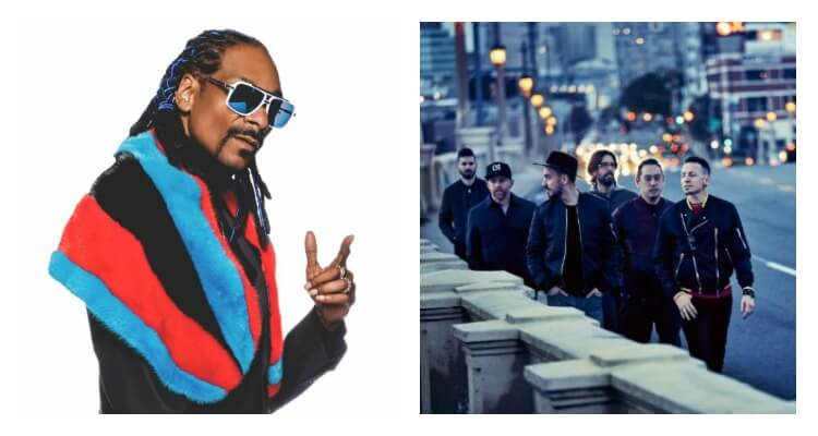 Snoop Dogg to Join Linkin Park On Their 'One More Light World Tour'
